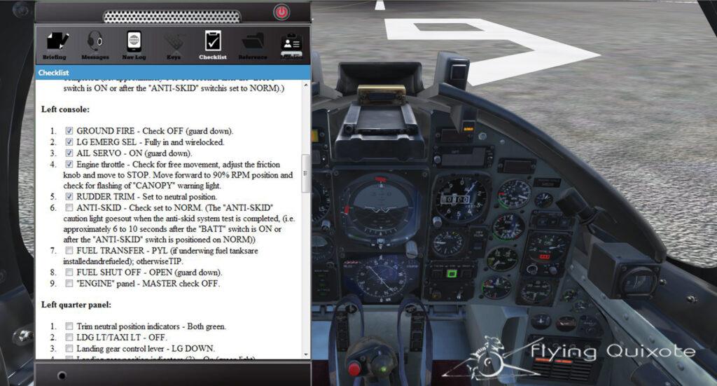 MB-339 cockpit